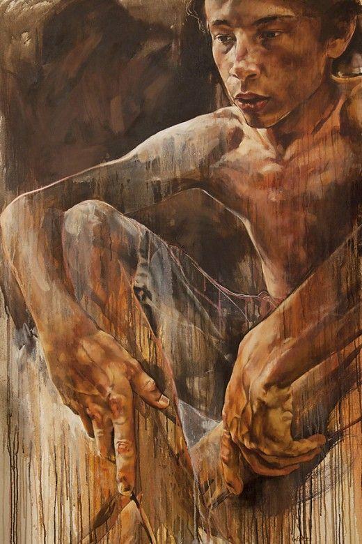 Darkness & Wonder Gabriel, 110 x 65cm