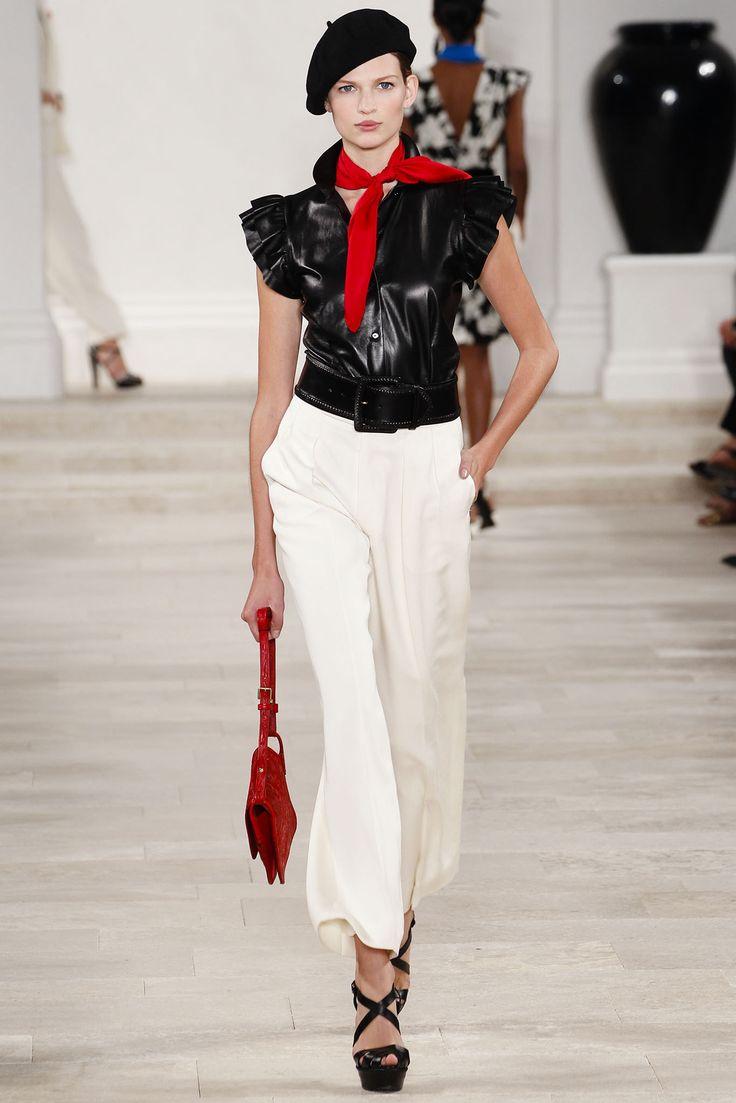 手机壳定制authentic retro air jordan sneakers Ralph Lauren Spring   Ready to Wear Collection Photos  Vogue