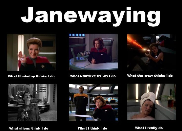 What Janeway really does. :)