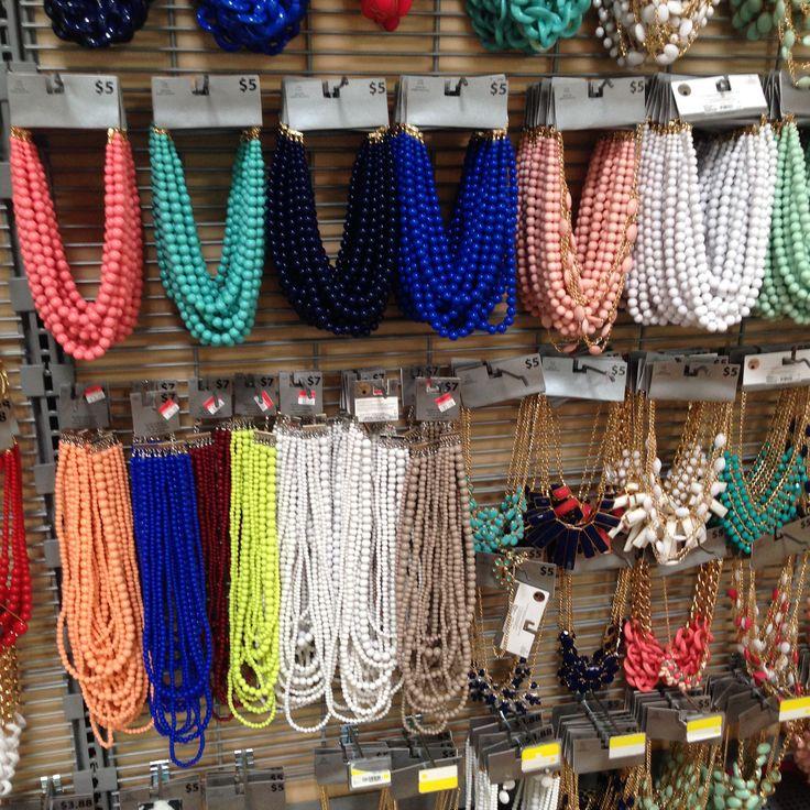 Walmart Statement Necklaces (August 2015)