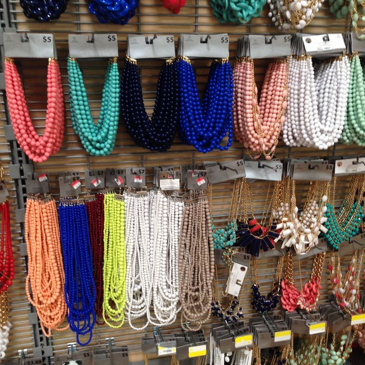Walmart Statement Necklaces (August 2015)