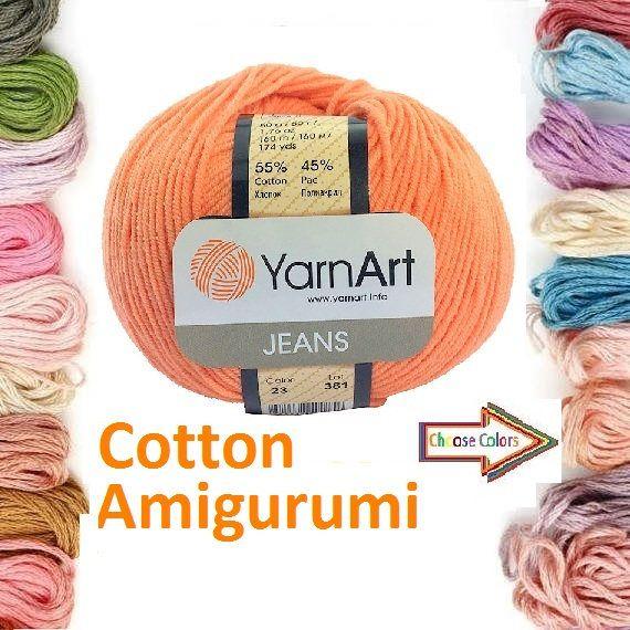 Check out this item in my Etsy shop https://www.etsy.com/listing/517471952/amigurumi-cotton-yarn-yarnart-yarn