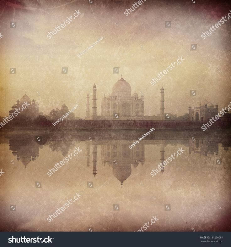 stock-photo-vintage-retro-hipster-style-image-of-taj-mahal-on-sunrise-reflection-in-yamuna-river-in-fog-indian-181226084.jpg (1500×1600)
