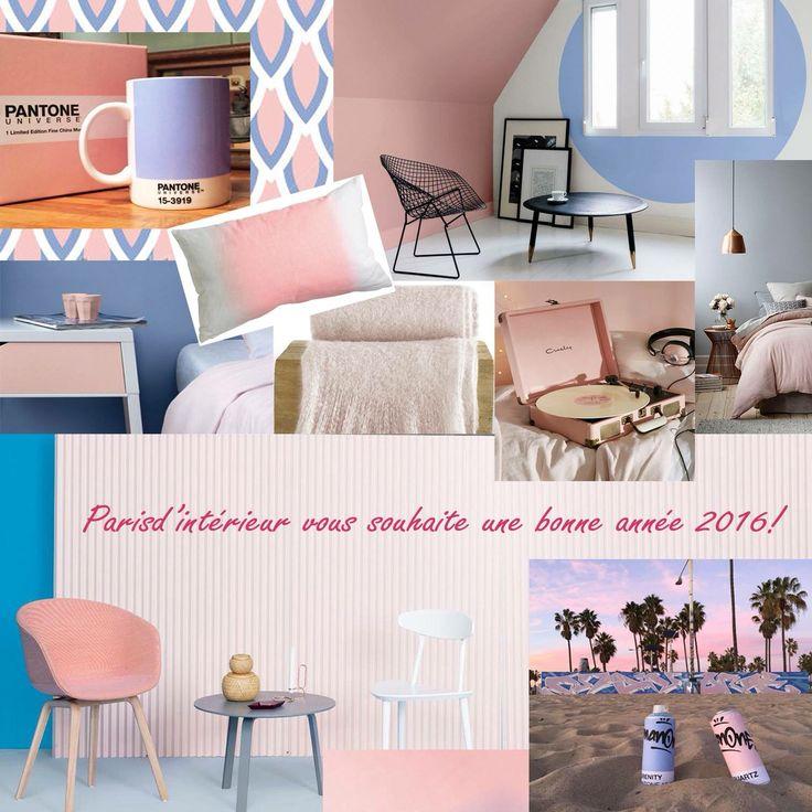 Couleurs Pantone 2016 Rose Quartz et Serenity!  Couleurs  Pinterest ...