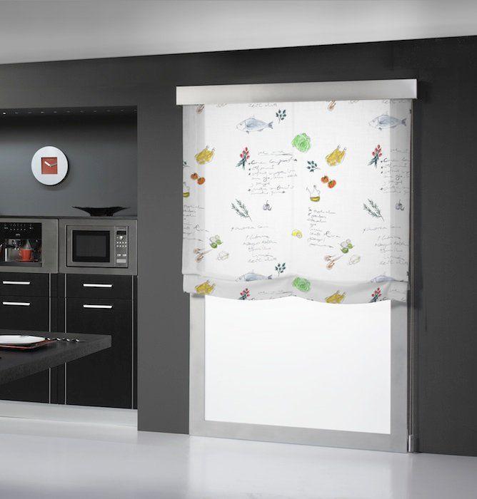 Cortinas de cocina modernas 2014 buscar con google for Cortinas visillo modernas
