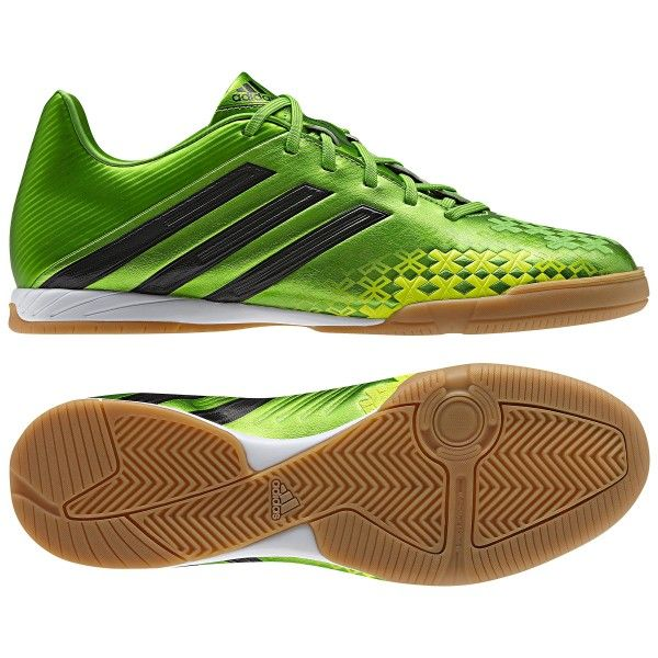 Bookmark and Share adidas Men's Predator Absolado LZ Indoor Soccer Shoes - Green