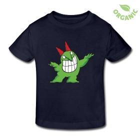 Kids' Organic T-Shirt - Victor Juggling