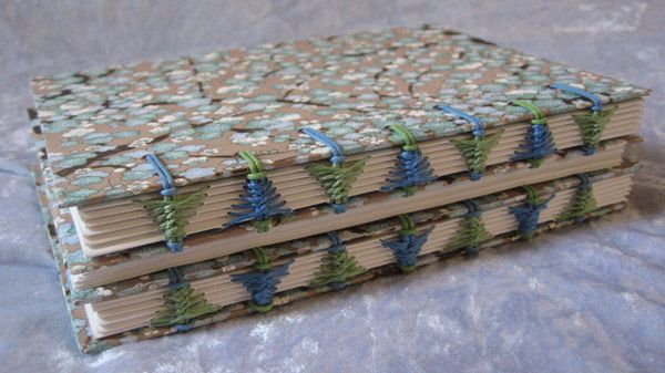 The art of book binding should be flaunted more.
