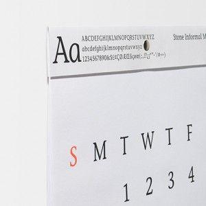 デザインが秀逸な2014年カレンダーを14点セレクト。