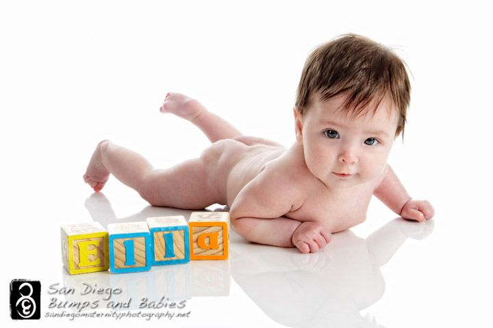 Name blocks - 3 month session. Good idea for 3 or 6 month session