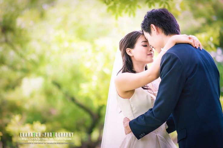 Sweet time for Pre-Wedding at Railway Park ( สวนรถไฟ ) Bangkok, Thailand