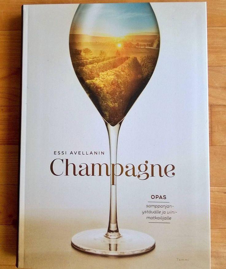 Nyt kannattaa tutustua samppanjaan Essi Avellanin kirjan avulla. #samppanja #essiavellan #kirjasuositus @essi.avellan