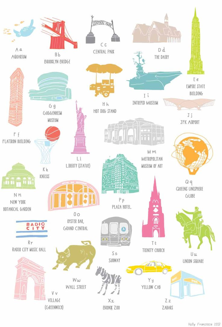 A to Z of New York, £20.00
