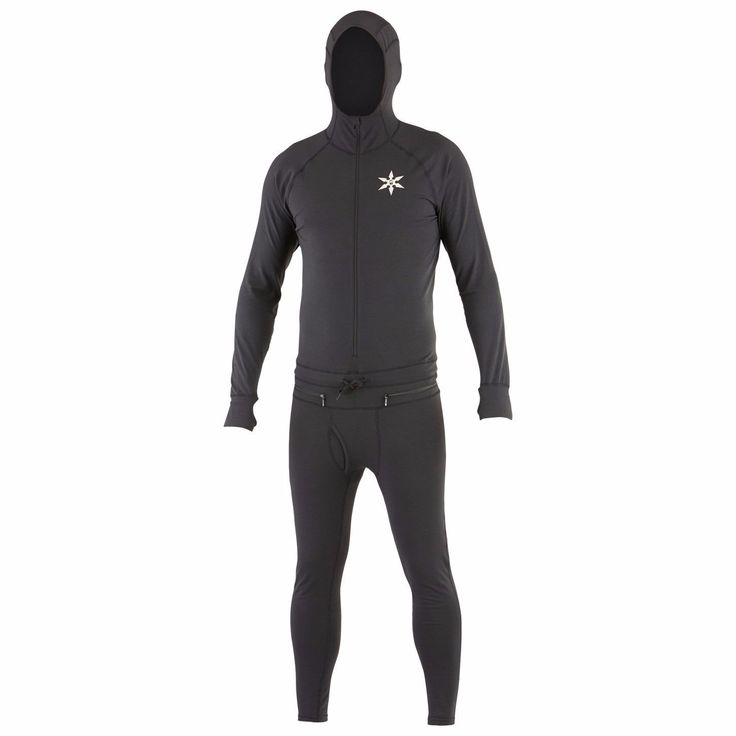 Base Layers 62171: New With Tags - Men S Airblaster Classic Ninja Suit Black - Large -> BUY IT NOW ONLY: $65 on eBay!