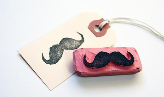 Do it yourself: Handmade stamps