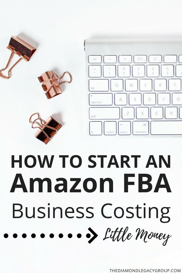 How To Start An Amazon Fba Business Costing Little Money Amazon