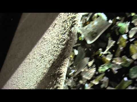 Glass recycling - YouTube
