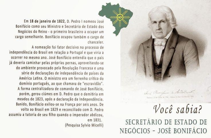 #CNSPNotícias - Você sabia? - 18 de janeiro de 2015 - José Bonifácio ~ Jornalista Sylvio Micelli