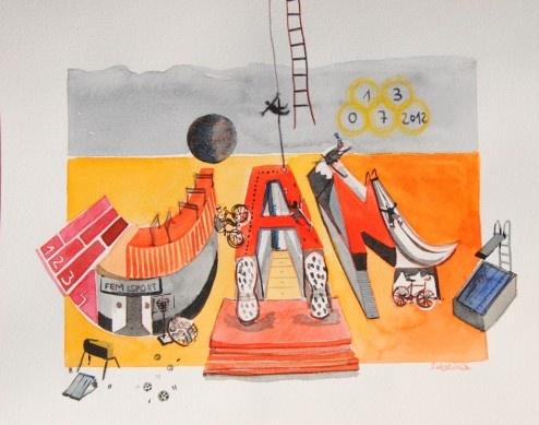 Jan, nom il·lustrat per Sabrina Sampere. Personalitzat i únic Jan, nombre ilustrado por Sabrina Sampere. Personalizado y único
