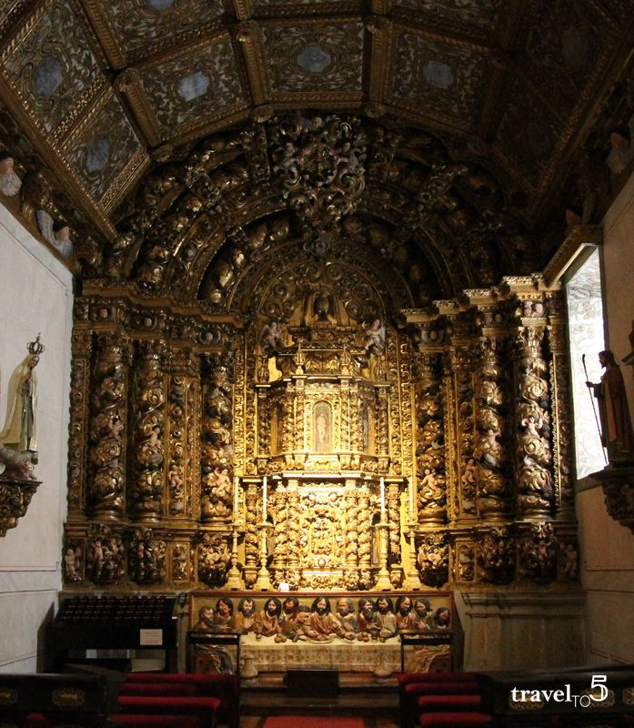 Baroque church in the North of Portugal. An off the route travel list for exploring the region closest to the border to Portugal and Peneda Geres National Park