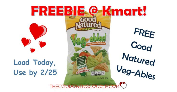 It's the KMART FRIDAY FIX! Get an ecoupon for FREE Good Natured Veg-Ables! Get the ecoupon now!  Click the link below to get all of the details ► http://www.thecouponingcouple.com/kmart-friday-fix/ #Coupons #Couponing #CouponCommunity  Visit us at http://www.thecouponingcouple.com for more great posts!