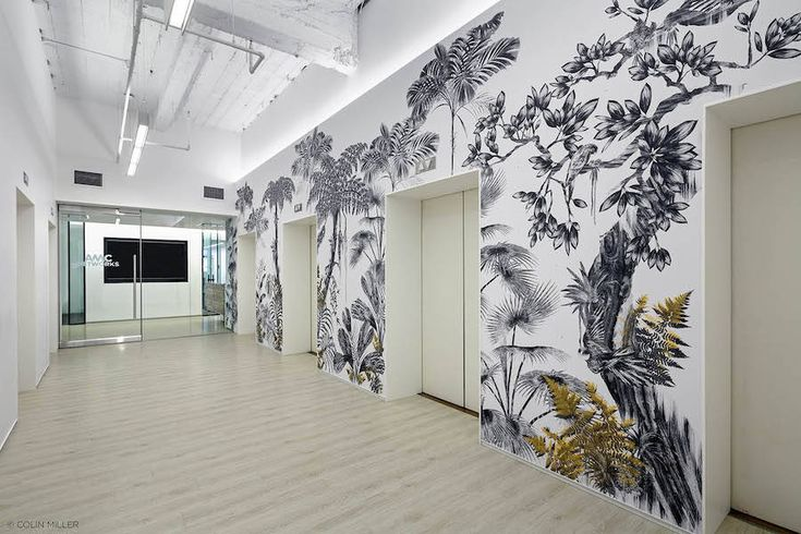 Illustrator Tatiana Arocha (represented by Vaughan Hannigan) was commissioned by AMC Networks | SundanceTV to imagine two mural artworks based on her illustrations series Rainforest Sanctuaries.