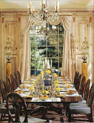 2558 best images about drapery styles on pinterest for Formal dining room window treatments