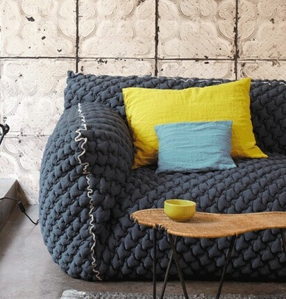 18 Best Couch Cover Images On Pinterest Stitching Tejido And Boro