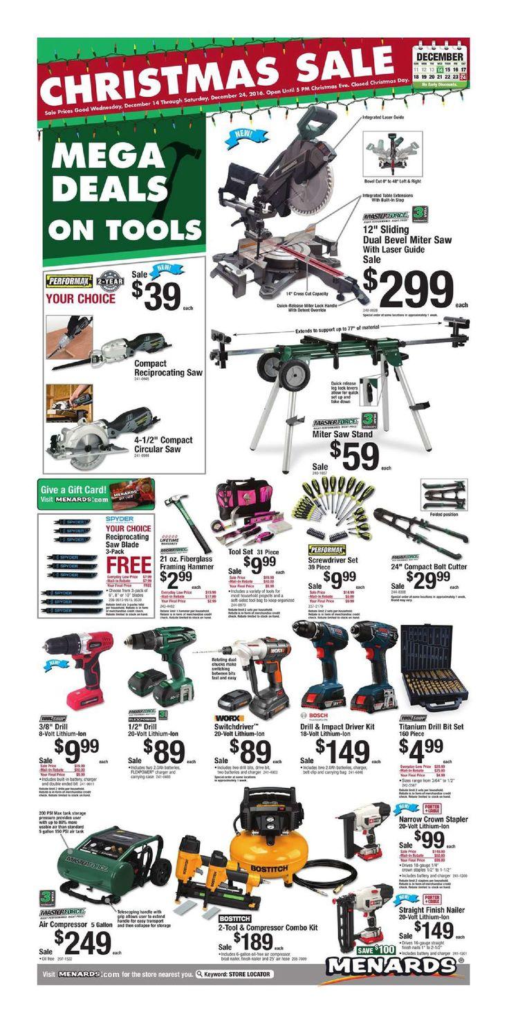 Menards Weekly Ad December 14 - 24, 2016 - http://www.olcatalog.com ...