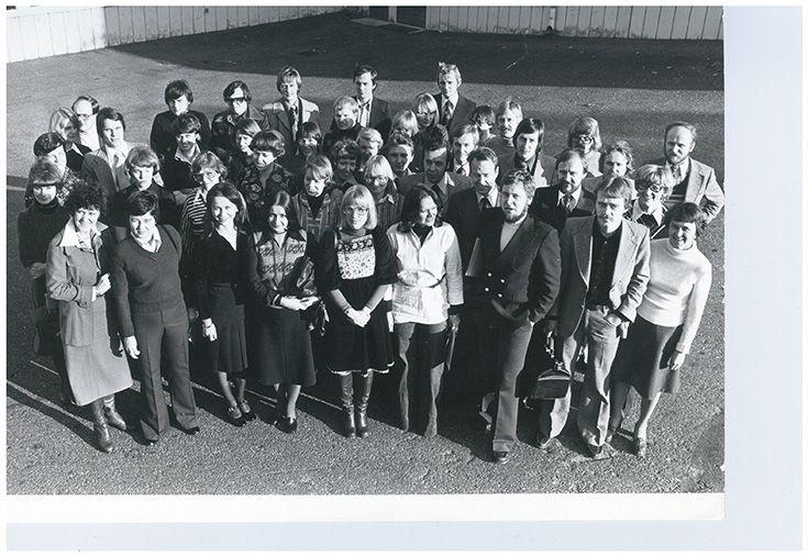 Markkinointi-instituutin opiskelijoita 11.10.1984