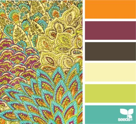 patterned hues