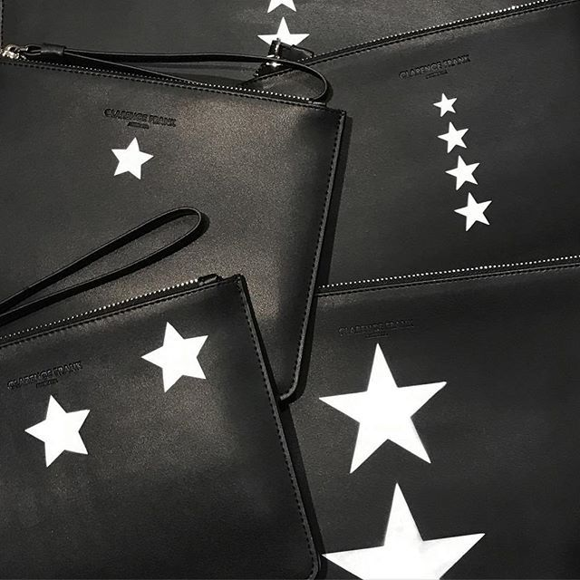 || It's a star kinda day today @clarencefrank. Come into our pop up to customise yours today! || #clarencefrank #australiandesigner #australianfashion #australianlabel #australianbrand #fashiondesigner #fashion #designer #luxury #leather #handpainted #fashionblogger #blogger #fashionista #fashionable #instafashion #streetstyle #minimalist #australia #adelaide #melbourne #sydney #picoftheday #stylist #trend #shopping #painting #style #classic