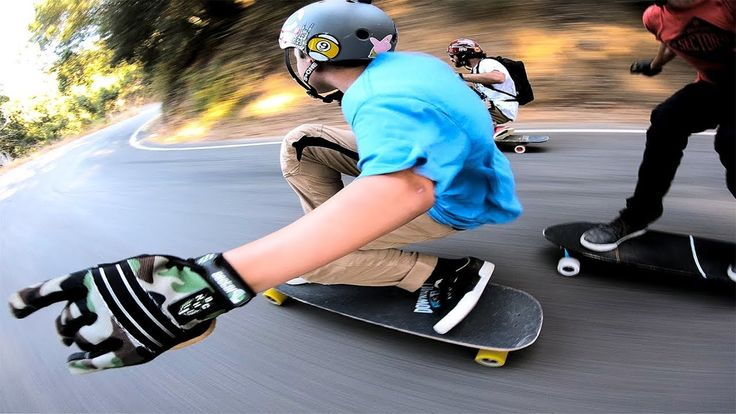 Downhill Skateboarding with Sector Nine - GoPro |