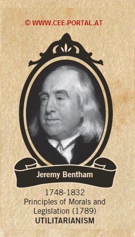 Jeremy Bentham 1748-1832 Principles of Morals and Legislation (1789) UTILITARIANISM