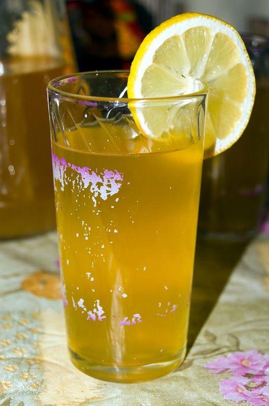 Шербет лимонный. Азербайджанская кухня