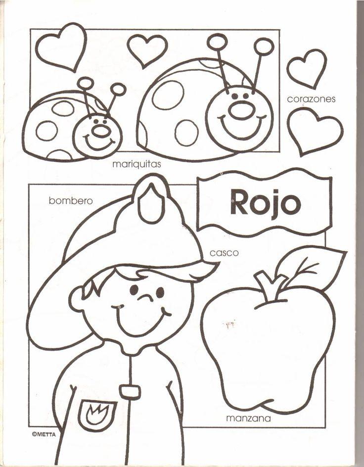 coloring pages las frutas spanish - photo#37