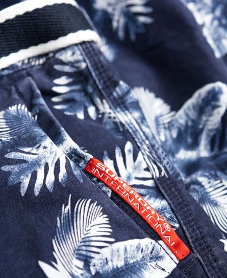 Superdry Bedrukte International chinoshorts
