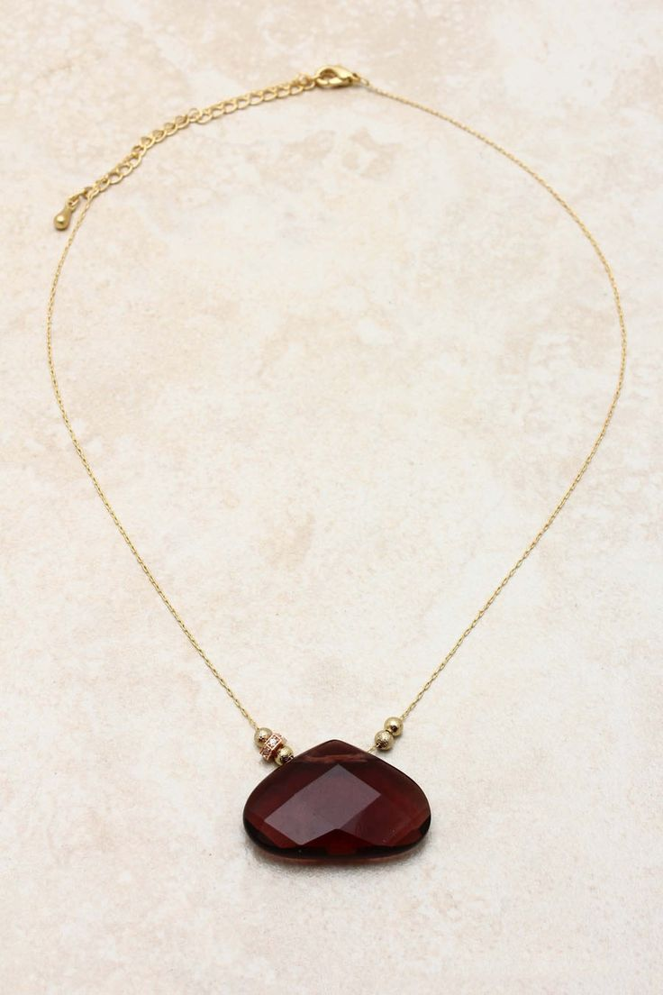 Amethyst Rella Necklace | What a gorgeous stone~