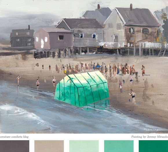 Inspiration Daily: What Washed Ashore - Home - Creature Comforts - daily inspiration, style, diy projects + freebies