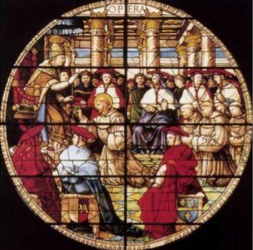 Título: no tiene título   Autor: Guillaume de Marcillant Lugar: Basilica de San Francisco Siglo: XV