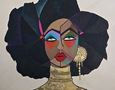 "Check out new work on my @Behance portfolio: ""Nubia - Acrylic, 46x55 cm."" http://be.net/gallery/38297941/Nubia-Acrylic-46x55-cm"