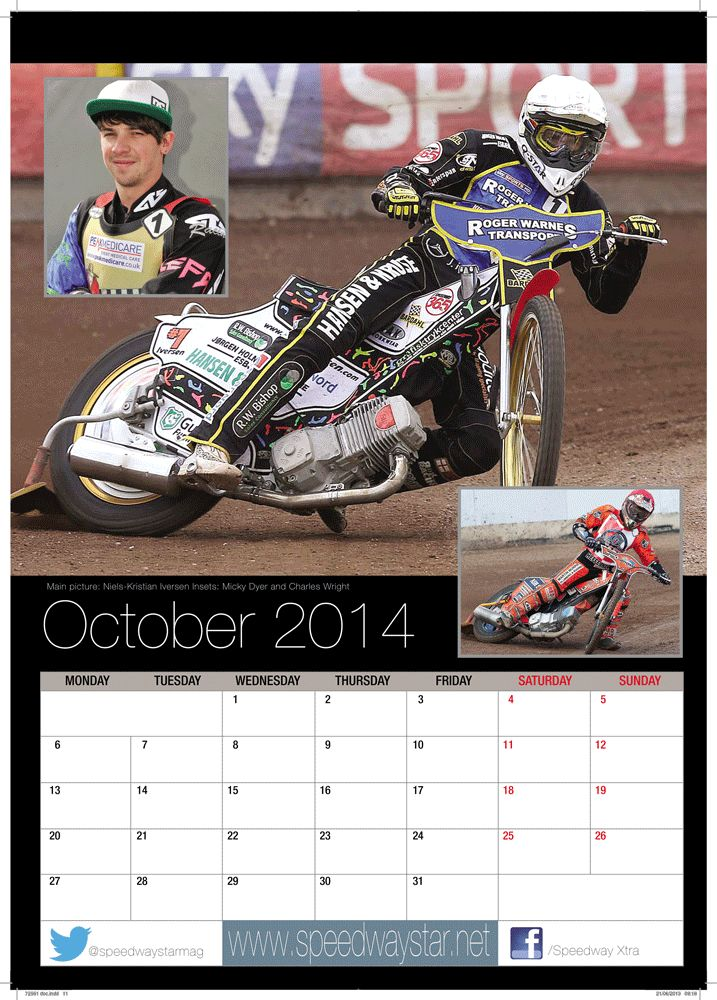 Main picture: Niels-Kristian Iversen  Insets: Micky Dyer and Charles Wright http://www.azimuthprint.co.uk/printing/wall-calendars/