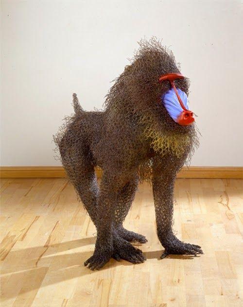Design Stack: Galvanised Wire Animal Sculptures