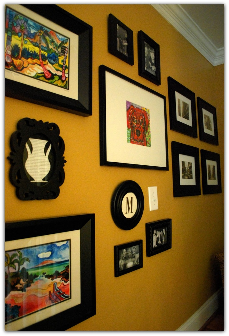 103 best Picture Collage Ideas images on Pinterest | Wall of frames ...
