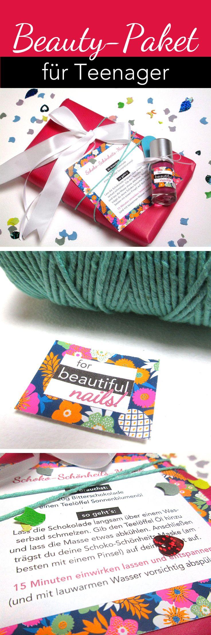 #Geschenkidee für #Teenager: #Beauty-Paket! #Schokolade für die #Schönheit! Wir…