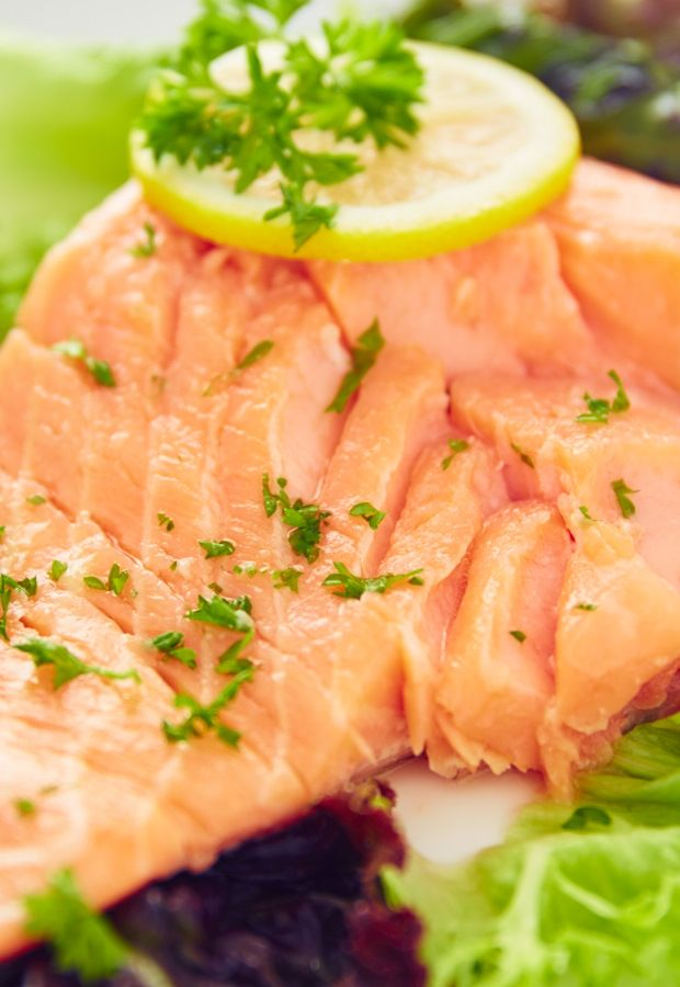 Sous vide salmon recipe the o 39 jays fans and than you for How do you cook fish