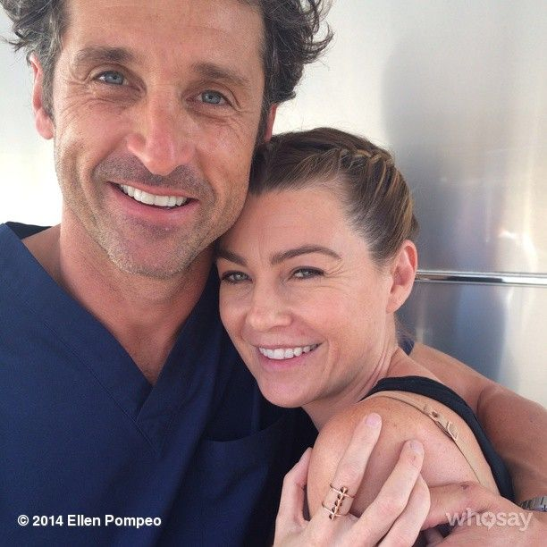 Patrick Dempsey and Ellen Pompeo // still both gorg, but boy, time has taken its toll on them.