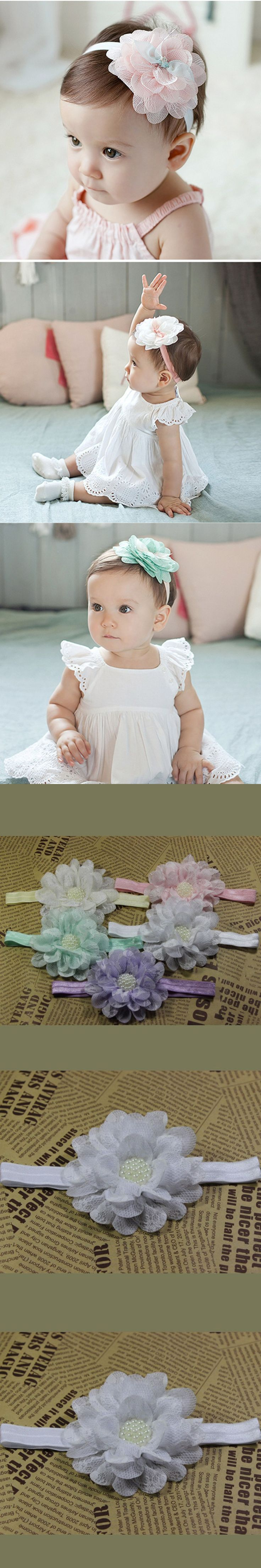 New Born Baby Girl Headbands Cute Kids Elastic Baby Headbands Infant Headband Baby Girl Hairbands Newborn Headwear Accessories