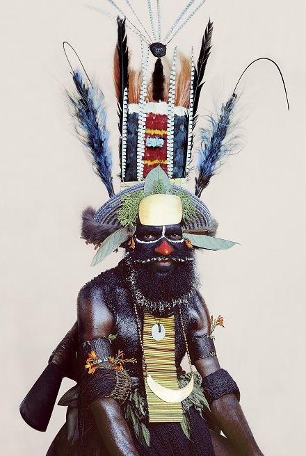 Malcolm Kirk: Man As Art, New Guinea.