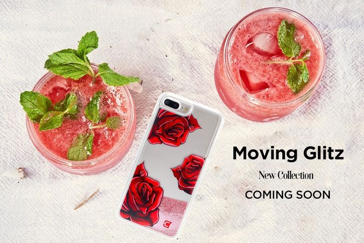 Happy Mojito Day!  New collection of Moving Glitz cases are coming soon. Stay tuned for sneak peeks 😋 #mojitoday #casecoinc #glittercase #summervibes #iphone6splus #iphone7plus